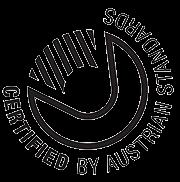 Logo Certified by Austrian Standards