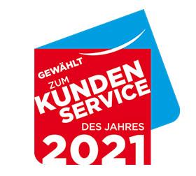Kundenservice des Jahres 2021