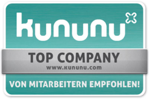 kununu Siegel - Top Company