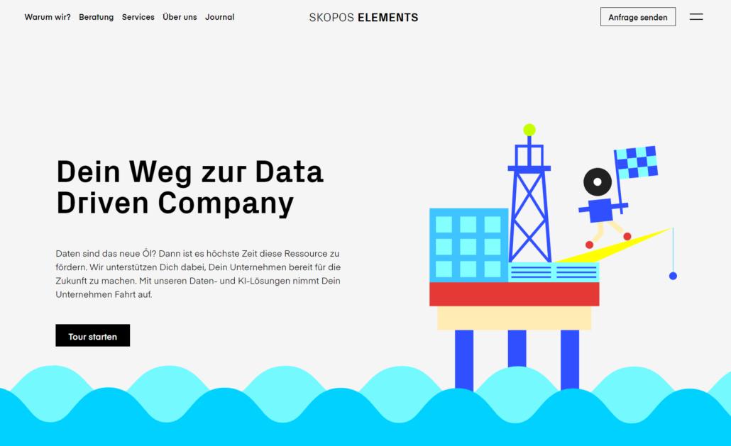 SKOPOS ELEMENTS Homepage