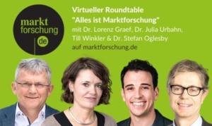 "Virtueller Roundtable ""Alles ist Marktforschung"" auf marktforschung.de"